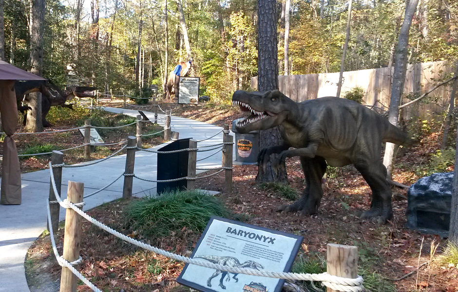Kings Dominion Dinosaurs Alive Project